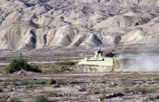 Azerbaycan ordusu, Ermenistan'a kan kusturmaya...
