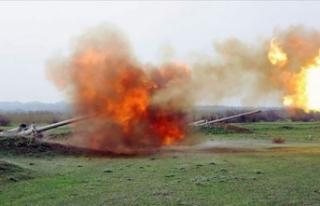 Azerbaycan ordusu, Ermenistan'ı saldırdığına...