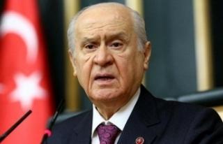 MHP lideri Bahçeli'den çok sert tepki: Burunlarından...