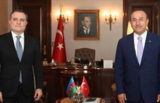 Bakan Çavuşoğlu Azerbaycan Dışişleri Bakanı...