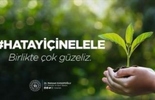 Bakan Kasapoğlu spor federasyonlarına Hatay için...