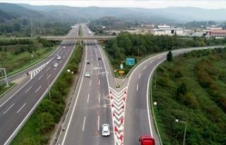 Bolu Dağı Tüneli kısmen açıldı
