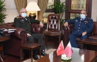 Genelkurmay Başkanı Güler, Katarlı mevkidaşı...