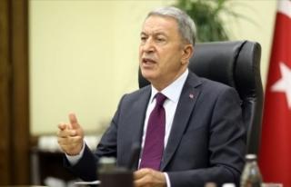 Milli Savunma Bakanı Akar: Ermenistan savaş suçu...