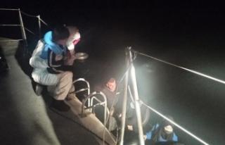 Muğla'da sığınmacılar kurtarıldı