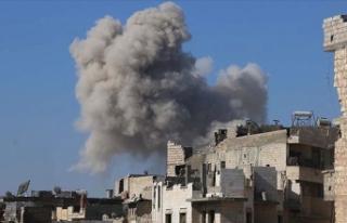 Rus savaş uçakları İdlib'i vurdu! Çok sayıda...