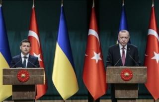 Ukrayna Devlet Başkanı Zelenskiy Türkiye'ye...