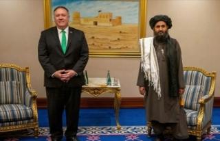 ABD Dışişleri Bakanı Pompeo, Taliban ve Afgan...