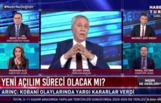 Arınç: Osman Kavala'nın tutuklu kalmasına...