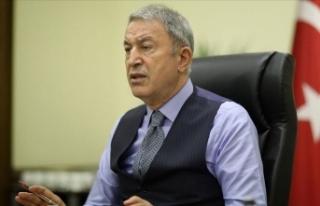 Bakan Akar: Azerbaycanlı kardeşlerimizin menfaatlerinin...