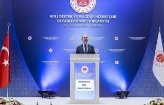 Bakan Gül: Mağdura tanınan hakları daha da geliştiriyoruz