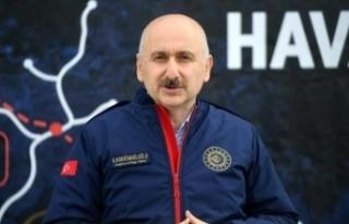Bakan Karaismailoğlu: İstanbul'a simge, yayınlara...