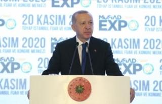 """Cumhur Başkanı Erdoğan: """" Pandemi döneminde..."""