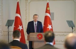 Cumhurbaşkanı Erdoğan: Demokrasimizi, hukuku güçlendirerek...