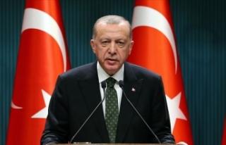 Cumhurbaşkanı Erdoğan: Salgın din, dil, ırk ayrımı...