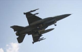 F-16 savaş uçağı eğitim sırasında kayboldu
