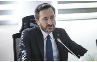 Fahrettin Altun'dan Ahmet Kekeç'e duygu...