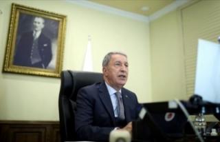 Hulusi Akar: Türkiye, Libya'da Milli Mutabakat...