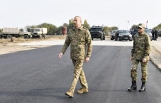 İlham Aliyev, işgalden kurtarılan Fuzuli ve Cebrail'i...