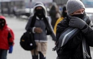 Kış kapıda, hava sıcaklıkları 10 derece birden...