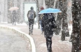 Meteoroloji'den sis, sağanak ve kar uyarısı