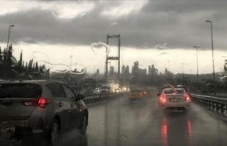 Meteoroloji İstanbul için uyardı: Aralıklı sağanak...