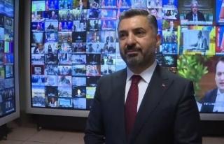 RTÜK Başkanı Şahin'den yeni açıklama