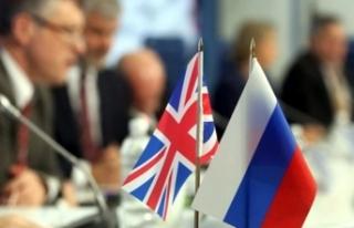 Rusya İngiltere'nin yaptırım listesine karşılık...