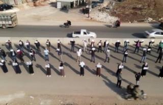 Suriyelilerden rejime 'Mülteciler Konferansı'...