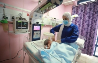 TİKA'dan Şeria'nın batısındaki hastaneye...