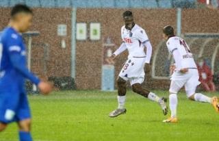 Trabzonspor Abdullah Avcı'yla zor da olsa kazandı