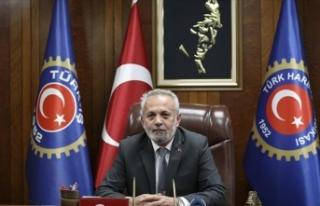 Türk Harb-İş Genel Başkanı'ndan Ali Mahir...