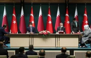 Türkiye ve Katar'dan iş birliği