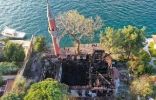 Vaniköy Camii restorasyonu 2 yıl sürecek