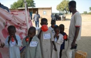 ADEV Çad'da 1400 mülteci çocuğu sünnet ettirdi