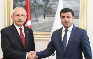 CHP, Selahattin Demirtaş için seferber oldu