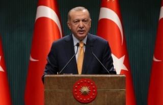 Erdoğan'dan şehidin ailesine başsağlığı...