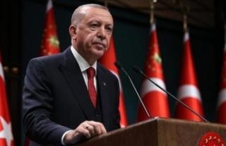 Erdoğan, Azerbaycan'daki Türk askerlerine hitap...