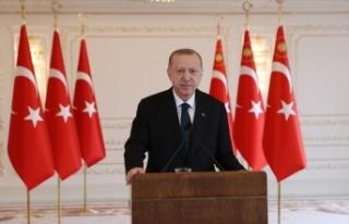 Erdoğan: Gece gündüz çalışmayı sürdüreceğiz