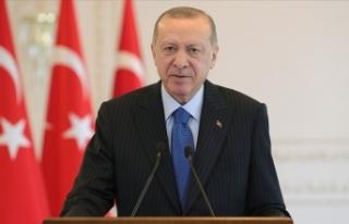 Erdoğan, Noel Yortusu dolayısıyla mesaj yayımladı