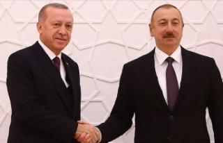 Erdoğan: Türkiye-Azerbaycan kardeşliği her alanda...