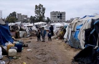 Filistin halkı barakalarda hayat mücadelesi veriyor