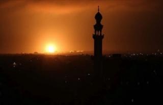 İsrail, roket saldırılarının ardından Gazze'yi...