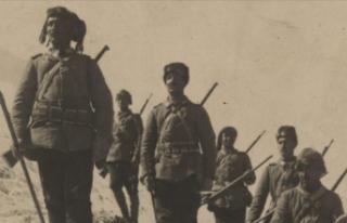 MSB Sarıkamış Harekatı'na katılan askerlerin...