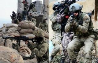 PKK'ya büyük darbe: 20 terörist öldürüldü