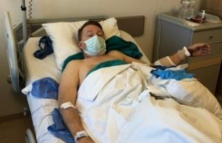 Tedavi için hastaneye giden büyükelçi Türk hastanelerine...
