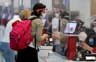 THY uçaklarındaki yolcular negatif PCR testi ibraz...