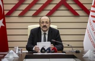 YÖK Başkanı Yekta Saraç açıkladı: Yükseköğretim...