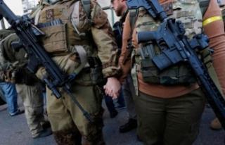 ABD kana bulanacaktı: Silah ve 509 mermiyle yakalandı