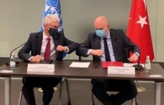 BM'de imzalar atıldı, Cenevre'den İstanbul'a...